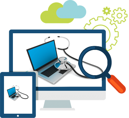 Our company can provide you with regular computer health checks