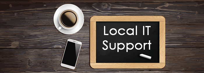 local IT support ready and waiting