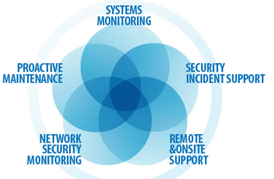 everything that falls under our managed IT services
